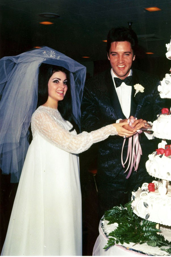 <strong>1967</strong> <br><br> Elvis Presley and Priscilla