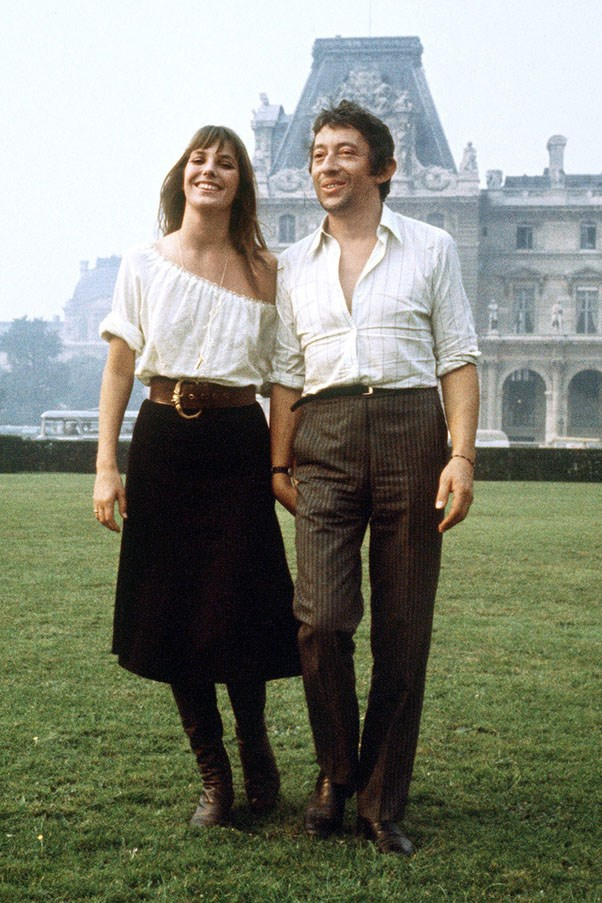 <strong>1969</strong> <br><br> Jane Birkin and Serge Gainsbourg