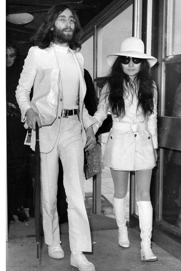 <strong>1969</strong> <br><br> John Lennon and Yoko Ono