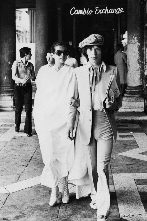 <strong>1971</strong> <br><br> Mick and Bianca Jagger