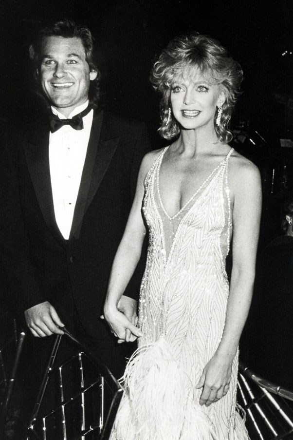 <strong>1983</strong> <br><br> Goldie Hawn and Kurt Russell