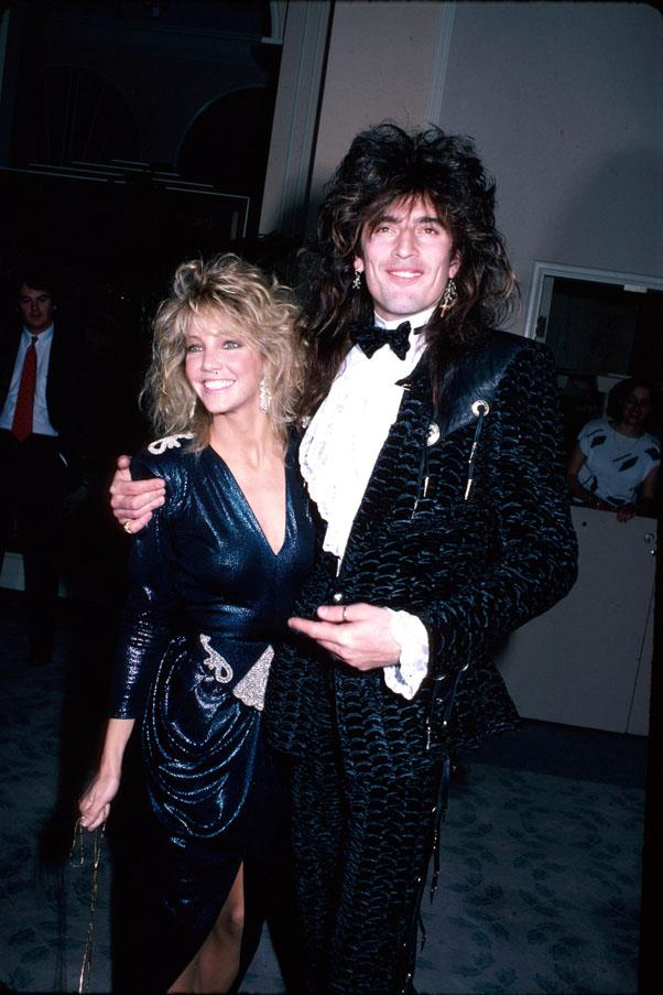<strong>1986</strong> <br><br> Heather Locklear and Tommy Lee