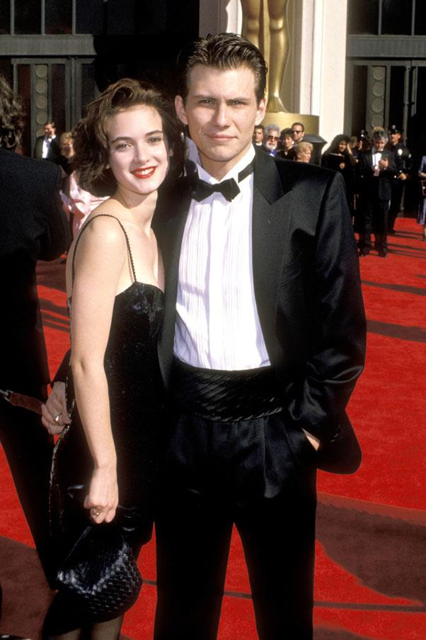 <strong>1988</strong> <br><br> Winona Ryder and Christian Slater
