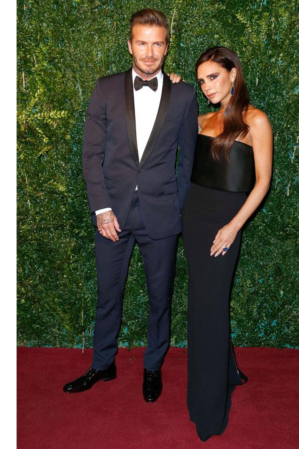 <strong>1999</strong> <br><br> David and Victoria Beckham