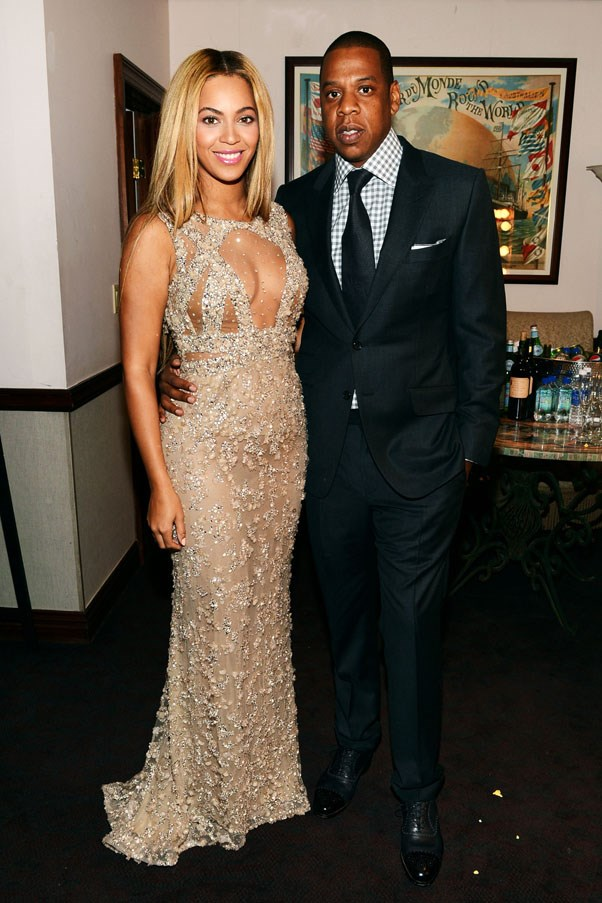 <strong>2008</strong> <br><br> Beyonce and Jay Z