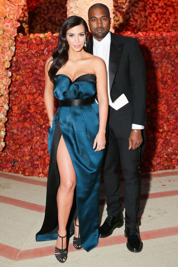 <strong>2014</strong> <br><br> Kim Kardashian and Kanye West