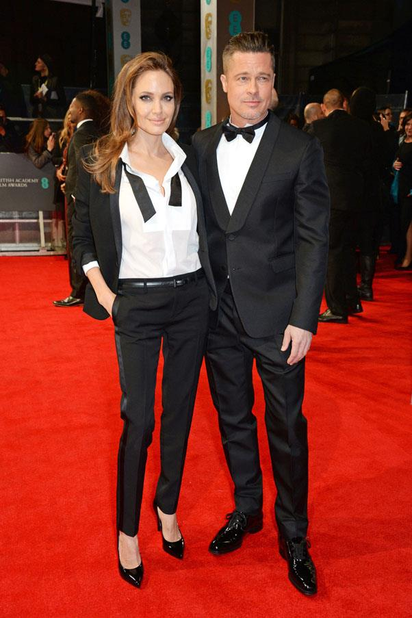 <strong>2014</strong> <br><br> Angelina Jolie and Brad Pitt