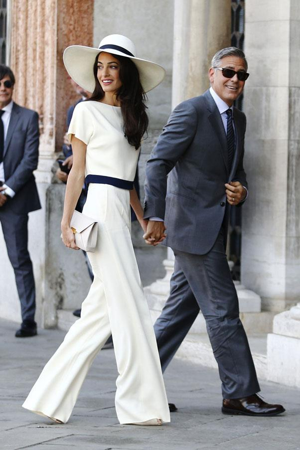 <strong>2015</strong> <br><br> Amal Alamuddin and George Clooney