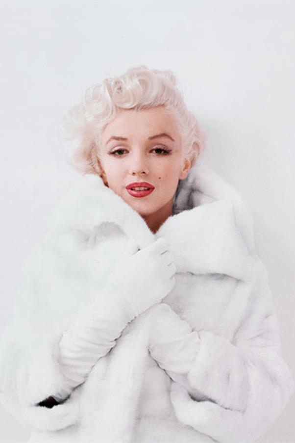<em>Winsome in White Fur, NY,</em> 1955