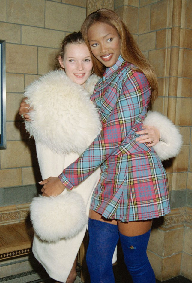 Naomi Campbell and Kate Moss Supermodel Friendship