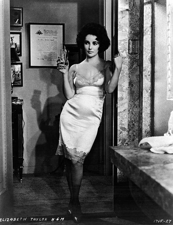 <strong>Elizabeth Taylor, 1958</strong>