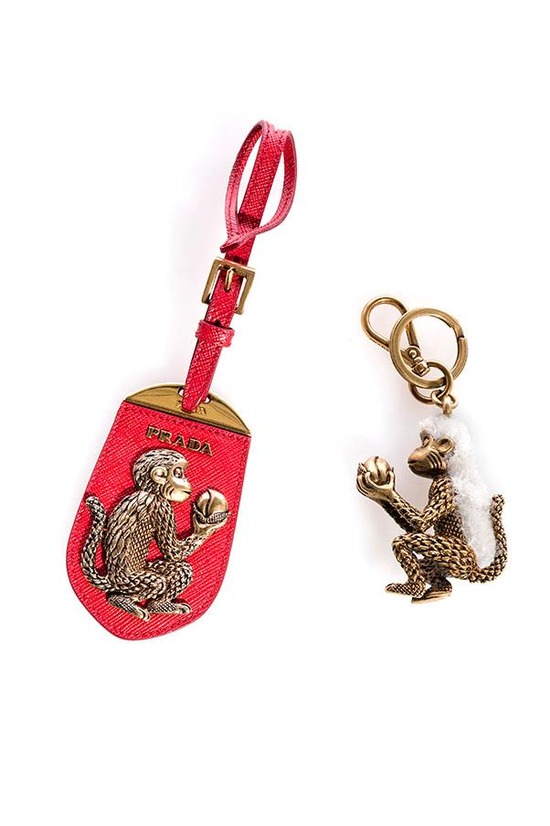 "Prada Trick Monkey Keyring, $460, available at <a href=""https://www.westfield.com.au/"">Westfield</a>"