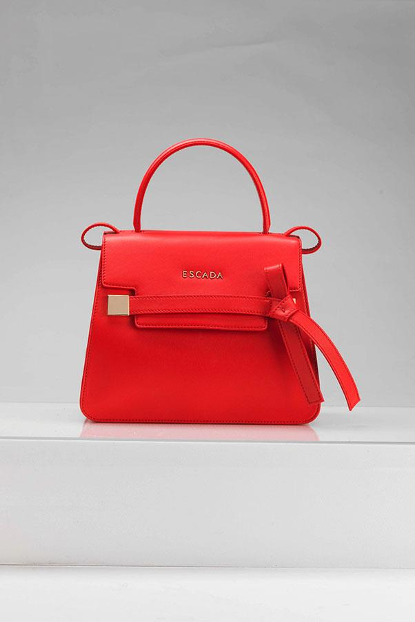 """Escada Limited Edition ML40 in red, $1,898, available at <a href=""""https://www.westfield.com.au/"""">Westfield</a>"""