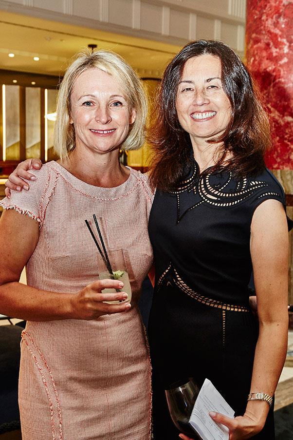 Bauer Media's Jo Runciman and Hearst Australia's general manager Marina Go.