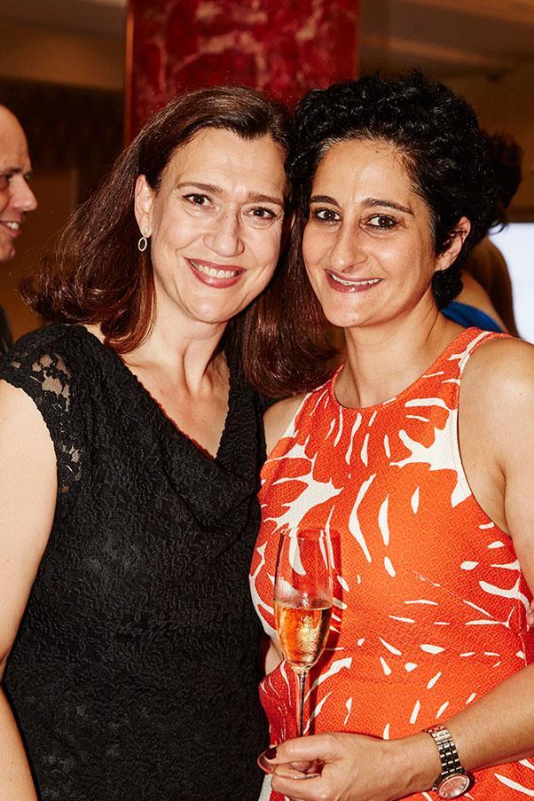 Emmerentia Wilding and <em>Gourmet Traveller</em> editor Anthea Loucas.