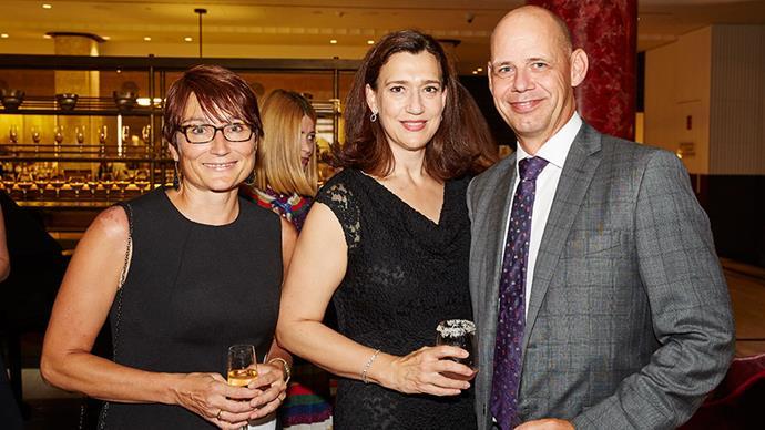 Cornelia Schulze, Emmerentia Wilding and Simon Davies.