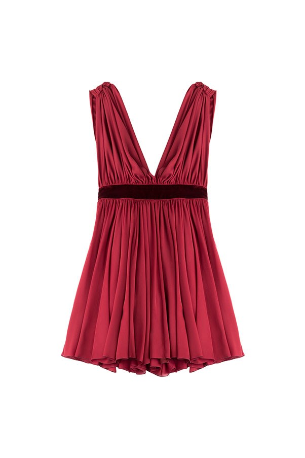 """DSQUARED2 Gathered Mini Dress, $2,268, available on <a href=""""http://www.stylebop.com/au/product_details.php?id=656467"""">stylebop.com</a>"""