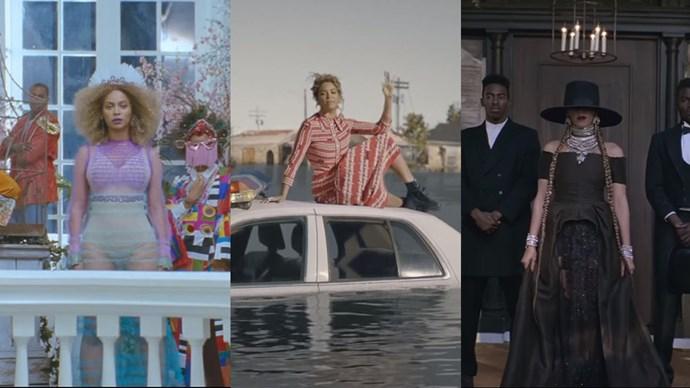 We break down every mesmerising look in Beyoncé's 'Formation' music video.