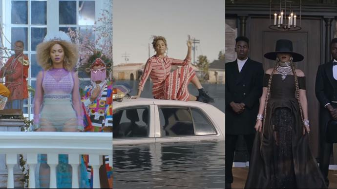 We break down every mesmerising look in Beyoncé's 'Formation' music video.