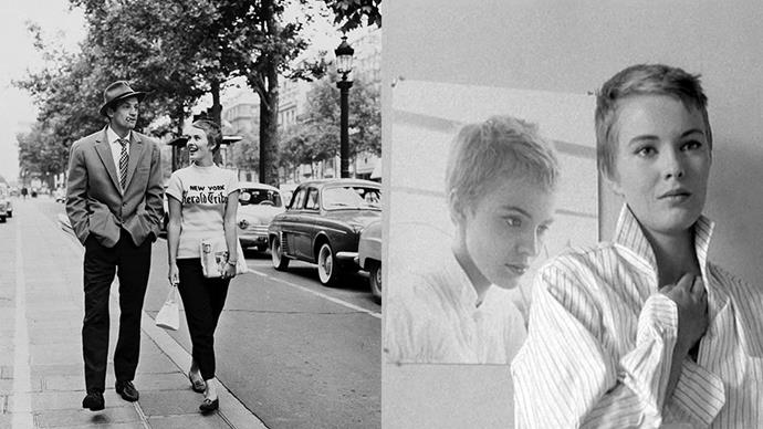 ***Breathless* (1960)** <br><br> Whether they know it or not, cool girls like Alexa Chung and Jeanne Damas take daily outfit inspiration from Jean Luc Godard's various muses. Jean Seberg in *Breathless*—Godard's first film—is beautiful, neurotic, and impeccably dressed.