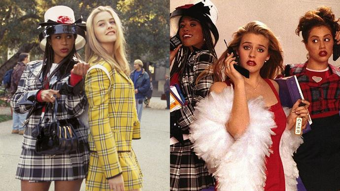"***Clueless* (1995)** <br><br> A painfully-'90s adaptation of Jane Austen's *Emma*, *Clueless* remains the go-to gal's sleepover flick, and maintains fashion credibility for its amazing tartan two-pieces, outrageous headwear and ever-quotable references (""Alaïa, it's like, a really important designer."")"