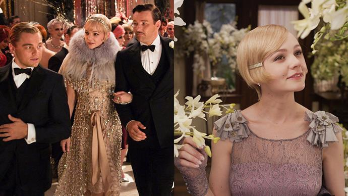 ***The Great Gatsby* (2013)** <BR><BR> Catherine Martin rallied her many fashion industry contacts to pull off her husband Baz Luhrmann's behemoth adaptation of F. Scott Fitzgerald's classic novel. Brooks Brothers supplied 1,200 suits, Miuccia Prada designed 40 dresses, and Tiffany & Co. designed the diamond '20s-era headpieces worn by Carey Mulligan's Daisy. It all makes for one of the most stylish films to ever come out of Australia.