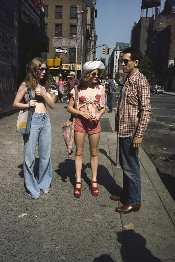 ***Taxi Driver* (1974)** <br><br> If Martin Scorcese's classic film about a vigilante New York taxi driver suffering from post traumatic stress disorder doesn't sound like like a 'fashion film', you haven't seen 14-year-old Jodie Foster's outfits.