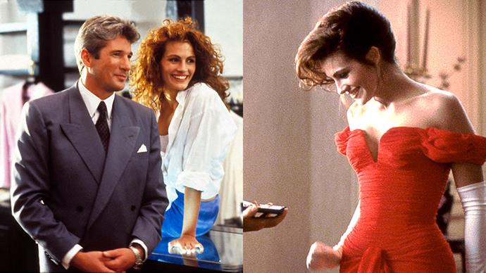 ***Pretty Woman* (1990)** <br><br> The thigh high boots! The $250,000 diamond necklace! The off-the-shoulder red gown! The Rodeo Drive shopping spree! Everything!