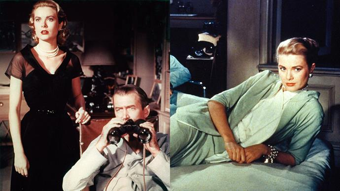 ***Rear Window* (1954)** <BR><BR> The only thing you'll find more intriguing than the twists and turns of Alfred Hitchcock's '50s thriller is how Grace Kelly manages to look more and more chic in each scene she appears in.