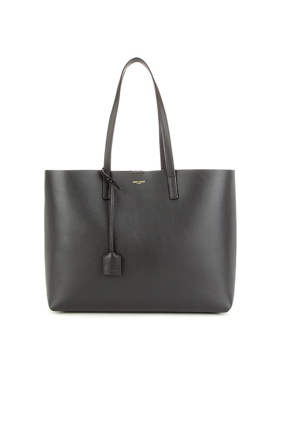 "<strong>BUY</strong> <BR><BR> Saint Laurent leather shopper, $1,105, <a href=""http://www.mytheresa.com/en-au/leather-shopper-538873.html?catref=category"">My Theresa</a>"
