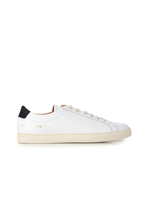 "Common Projects 'Achilles' retro leather low-top trainers, $432, <a href=""http://www.matchesfashion.com/au/products/Common-Projects-Achilles-retro-leather-low-top-trainers-1025748#"">Matches Fashion</a>"