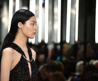 Dion Lee fall 2016 fashion week show