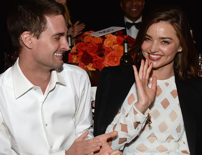 Miranda Kerr Dating Evan Spiegel
