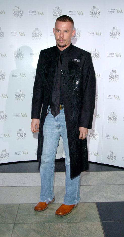 <strong>Alexander McQueen</strong> <br><br> <strong>Real name:</strong> Lee Alexander McQueen