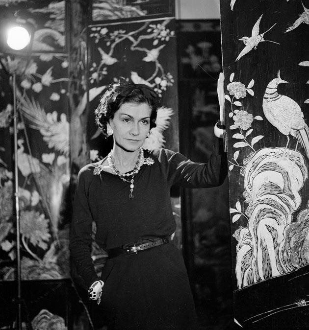 <strong>Coco Chanel</strong> <br><br> <strong>Real name:</strong> Gabrielle Bonheur Chanel