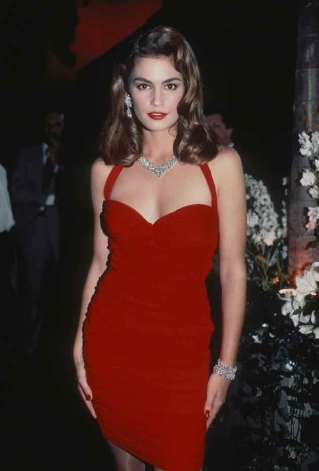<strong>Cindy Crawford</strong> <br><br> <strong>Real name:</strong> Cynthia Ann Crawford