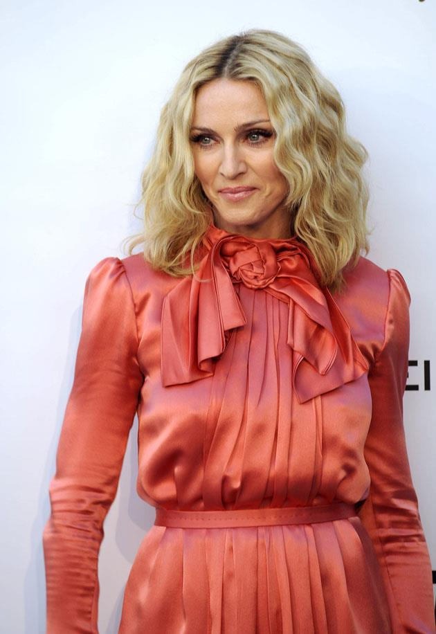 <strong>Madonna</strong> <br><br> <strong>Real name:</strong> Madonna Louise Ciccone
