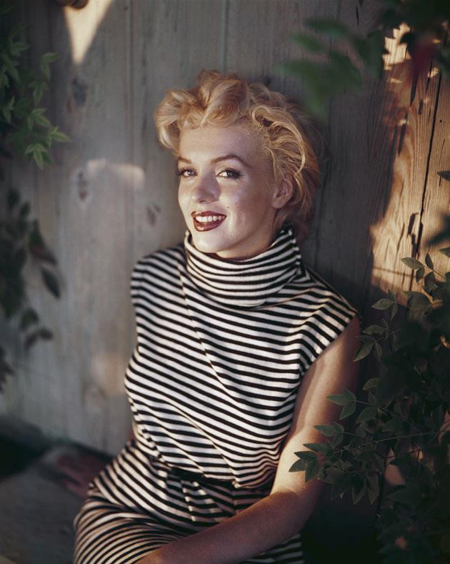 <strong>Marilyn Monroe</strong> <br><br> <strong>Real name:</strong> Norma Jean Mortenson