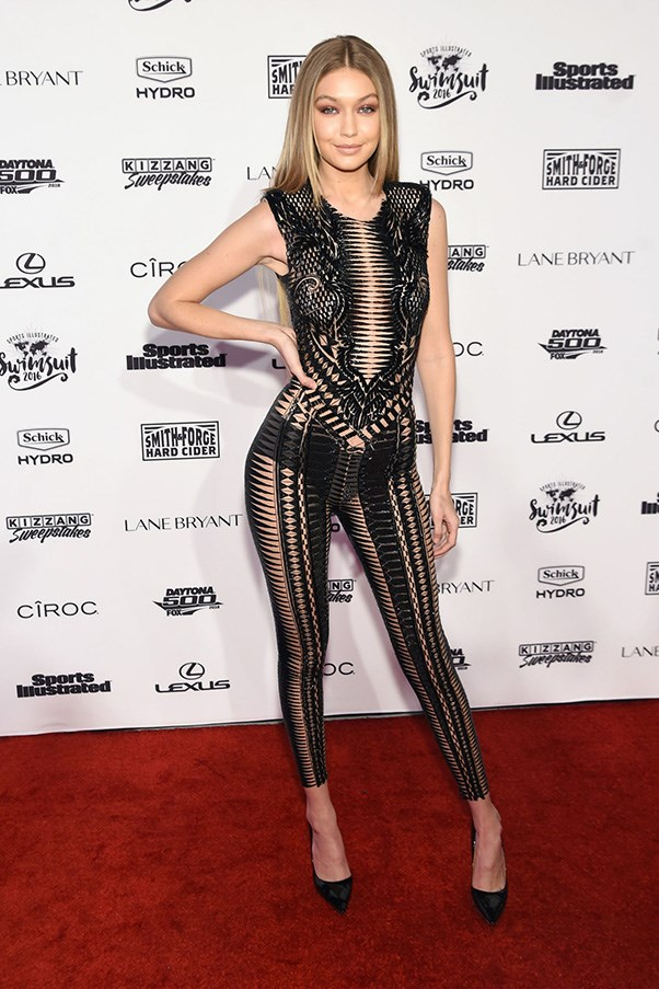 Gigi Hadid Sports Illustrated Swimsuit Issue Red Carpet