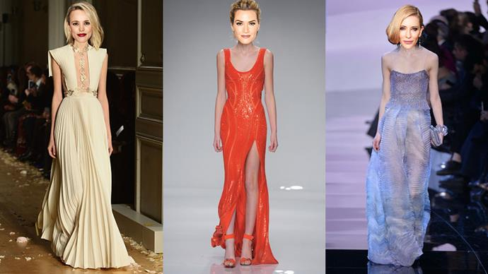 We predict what the Oscar nominees will be wearing on the red carpet come February 28th.