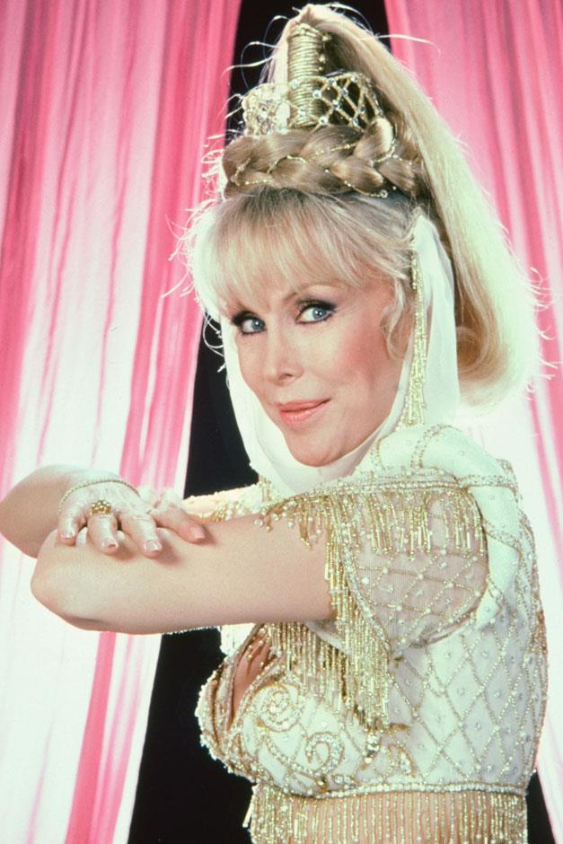 <strong>Magic heights</strong> <br><br> Barbara Eden in <em>I Dream of Jeannie</em>