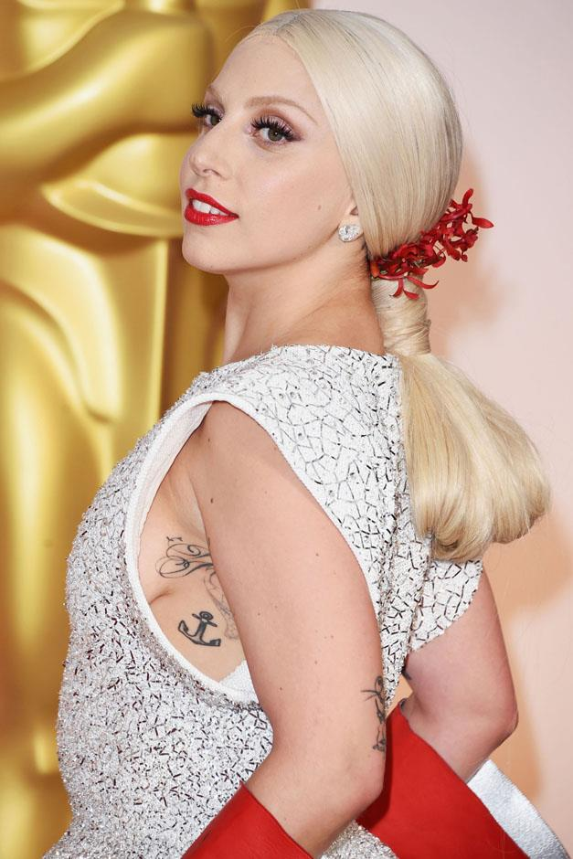 <strong>All wrapped up</strong> <br><br> Lady Gaga