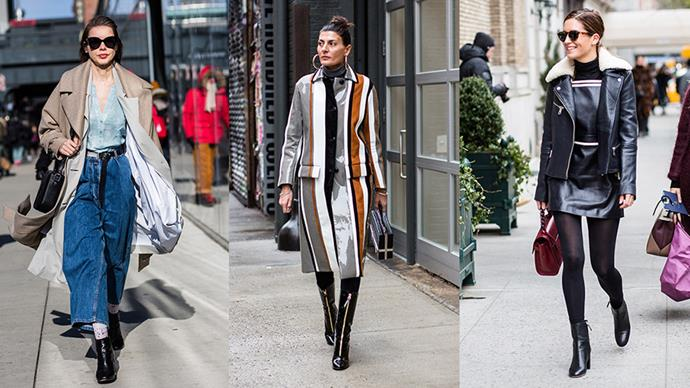 The best street style from New York fashion week A/W 2016.