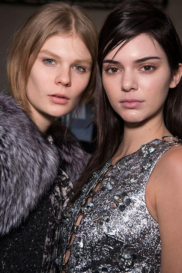 <strong>MICHAEL KORS</strong><br><br> Even for autumn/winter shows, there is usually a hint of bronze at Michael Kors. This season, however, there was only the slightest touch of colour on the eyes. The rest of the look was very pared-back.<br><br> Jason Lloyd-Evans