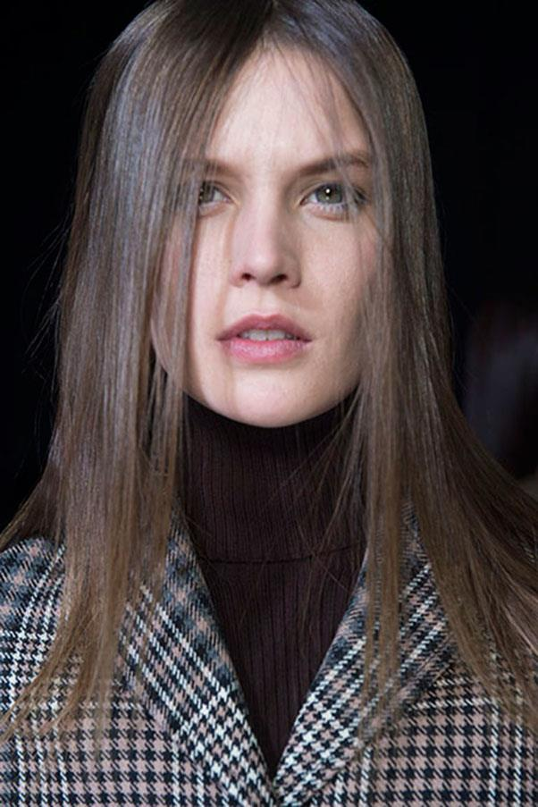 <strong>3.1 PHILLIP LIM</strong><br><br> The hair was straight with a static finish at 3.1 Phillip Lim and make-up was, like many of the shows we've seen so far in New York, low key.<br><br> Jason Lloyd-Evans