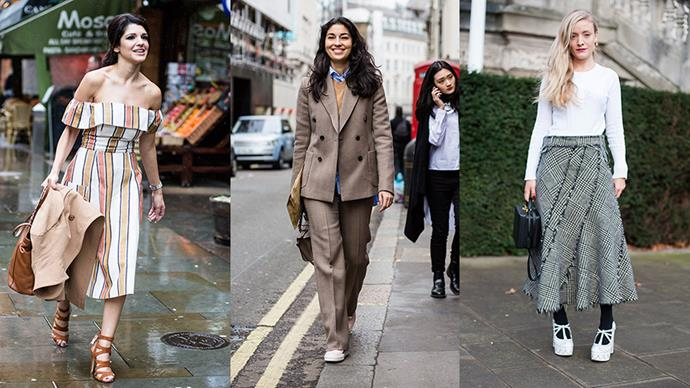 The best street style moments from London fashion week A/W 16...