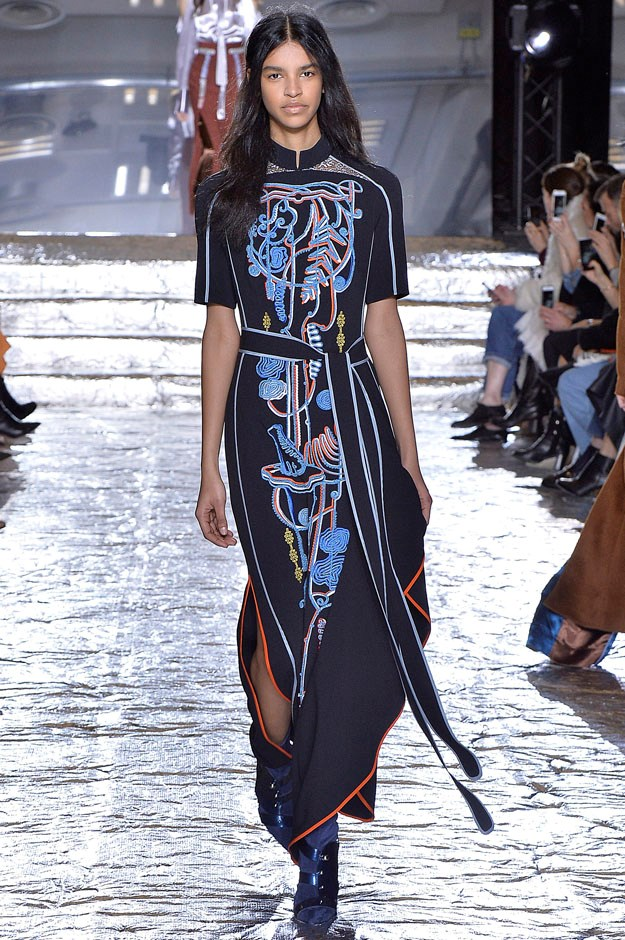 <strong>Peter Pilotto</strong> <br><br> Peter Pilotto and Christopher de Vos never fail to deliver colour, whimsy and precision. And now that they have a cash injection thanks to their Arbol jewellery collection backed by Swarovski, things can only get better for the duo.