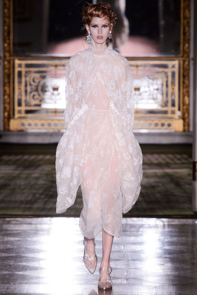 <strong>Simone Rocha</strong> <br><br> Simone Rocha is a romantic at heart—a little bit of a twisted, gothic romantic. The designer has amassed a following of women who appreciate pretty with a dark side. —Kerry Pieri