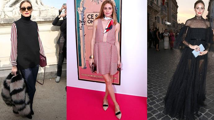 <strong>THE ACCESSORIES SHOW</strong><BR><BR>Olivia Palermo puts the emphasis on choosing accessories to remember - whether that be a fur stole, neck scarf, statement necklace or colourful clutch. In other words, the magic is in the details.