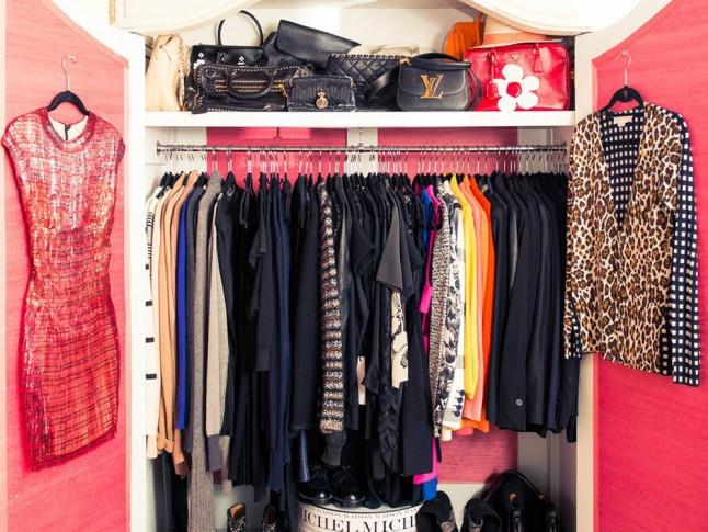 <strong>Miranda Kerr</strong> <br><br> A short and sweet cupboard to hold only the best items.